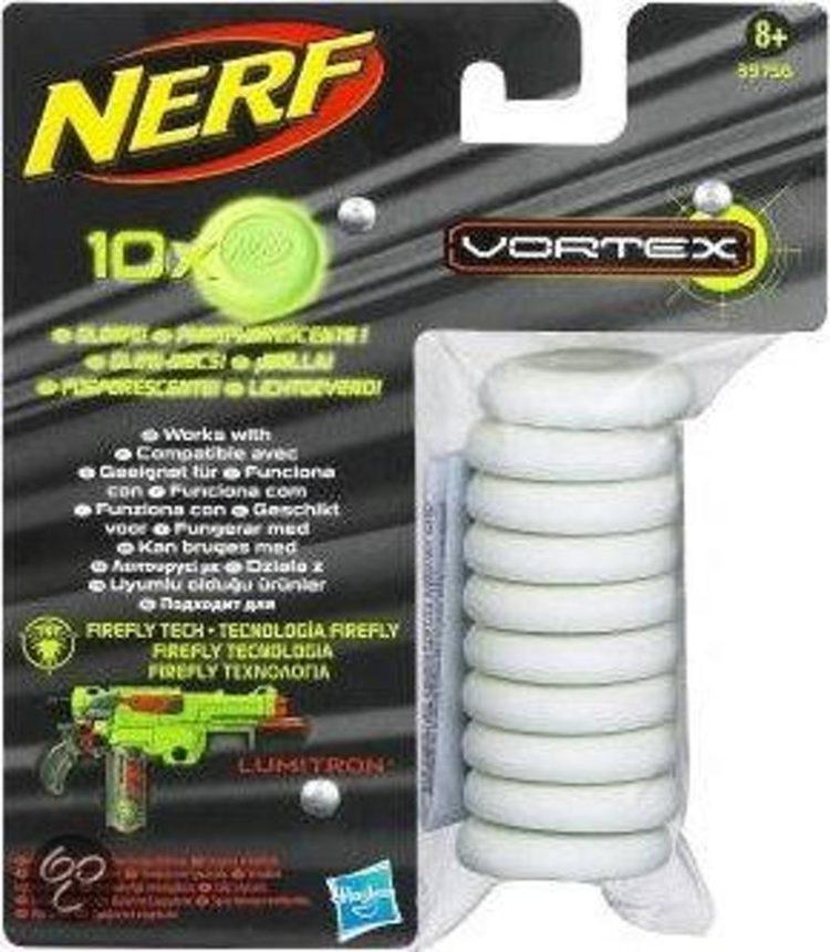 NERF VORTEX 10XDISCKS GLOWS