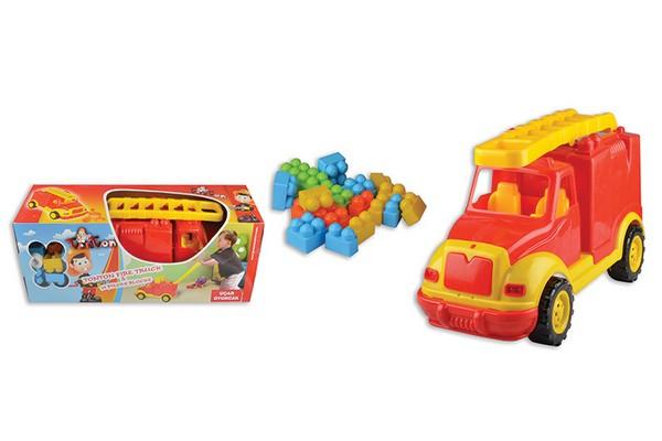 Πυροσβεστικό όχημα με τουβλάκια