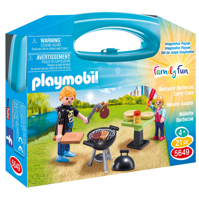 Βαλιτσάκι Barbecue PLAYMOBIL