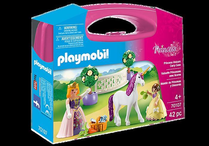 Maxi Βαλιτσάκι Πριγκίπισσες με μονόκερο PLAYMOBIL