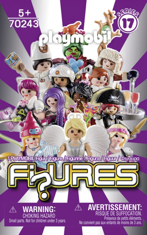 FI?URES SERIES 17 PLAYMOBIL