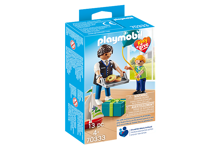 Play & Give Νονός PLAYMOBIL