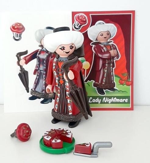 EVERDREAMERZ LADY NIGHTMARE SERIES 1 PLAYMOBIL