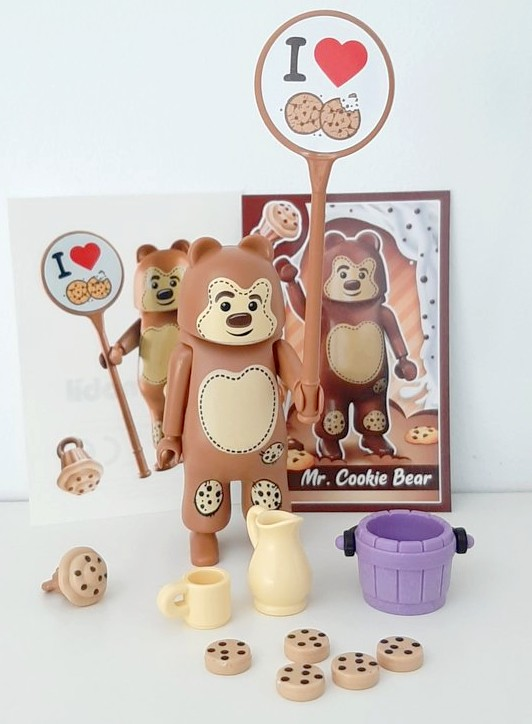 EVERDREAMERZ MR.COOKIE BEAR SERIES 1 PLAYMOBIL