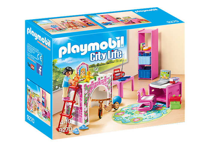 Μοντέρνο παιδικό δωμάτιο PLAYMOBIL