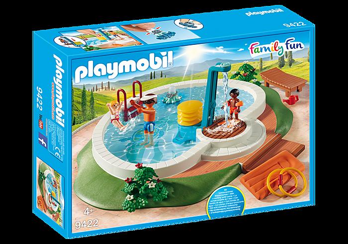 Πισίνα με ντουζ PLAYMOBIL