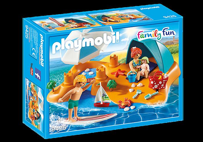 Οικογενειακή διασκέδαση στην παραλία PLAYMOBIL