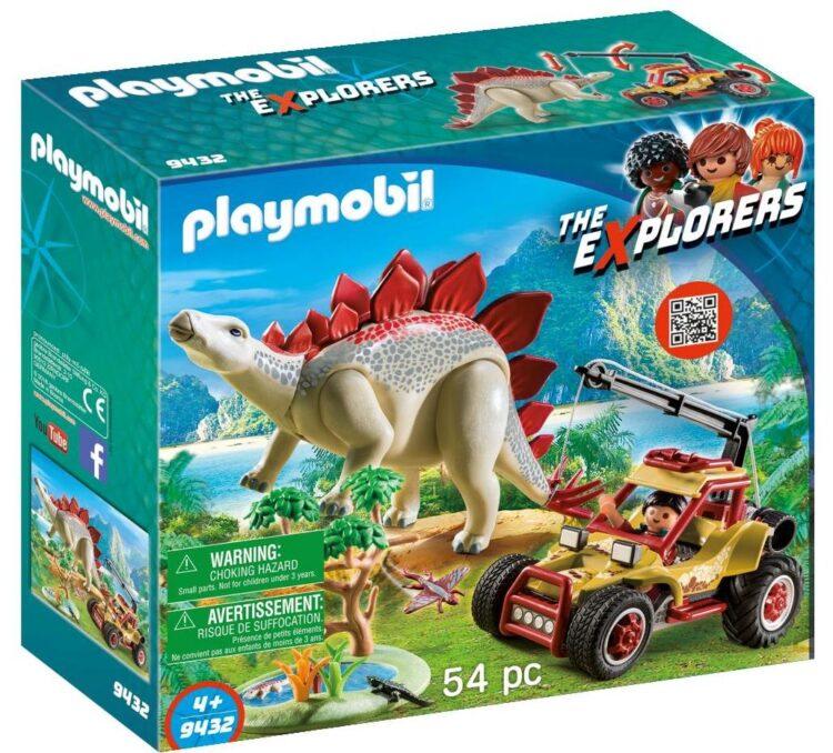 Εξερευνητικό Όχημα και Στεγόσαυρος PLAYMOBIL
