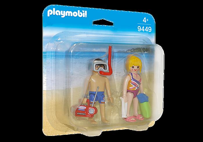 Duo Pack Λουόμενοι στην παραλία PLAYMOBIL