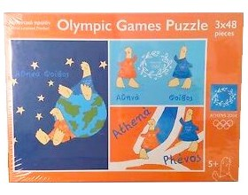 olympic games puzzle 3x48