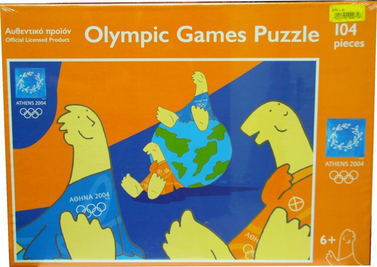 olympic games puzzle 104pcs