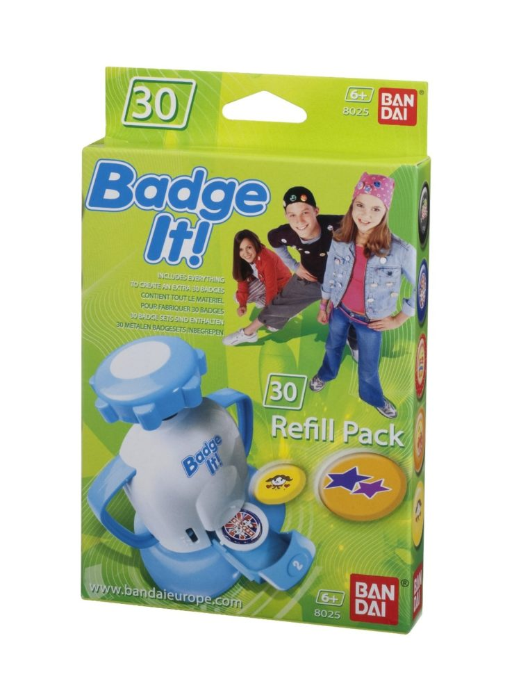 BADGE IT 15 REFILL PACK