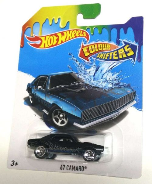 67 CAMARO COLOUR SHIFTERS HOT WHEELS